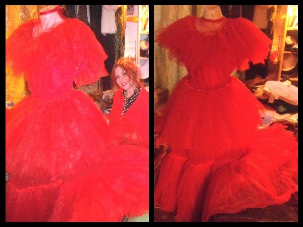 faeryspell creations child size beetlejuice red wedding