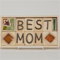 Best Mom - Gift Plaque