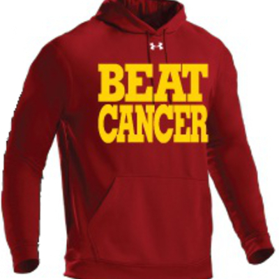 Cardinal/gold under armour®‎ hoodie