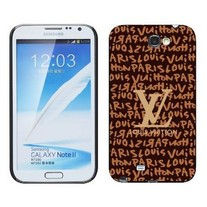 New Chic Luxury Designer Brown Letters Samsung Galaxy Note 2 Case