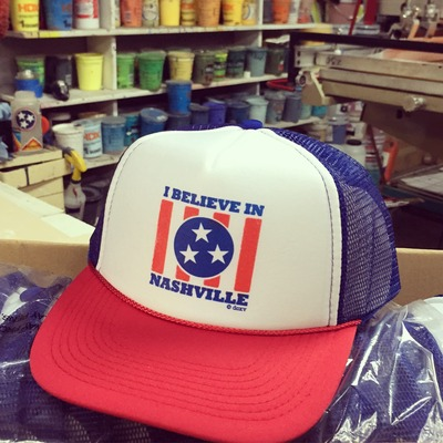 I believe - tri-color hat