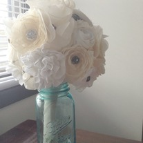 Custom Fabric Flower Bouquets