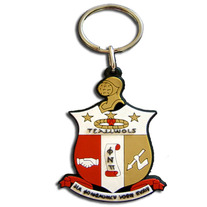 Kappa Alpha Psi Shield PVC Keychain