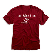 """I am What I am"" Future Nupe Tee (Krimson)"