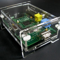 Clear Raspberry Pi Enclosure Kit - Thumbnail 4