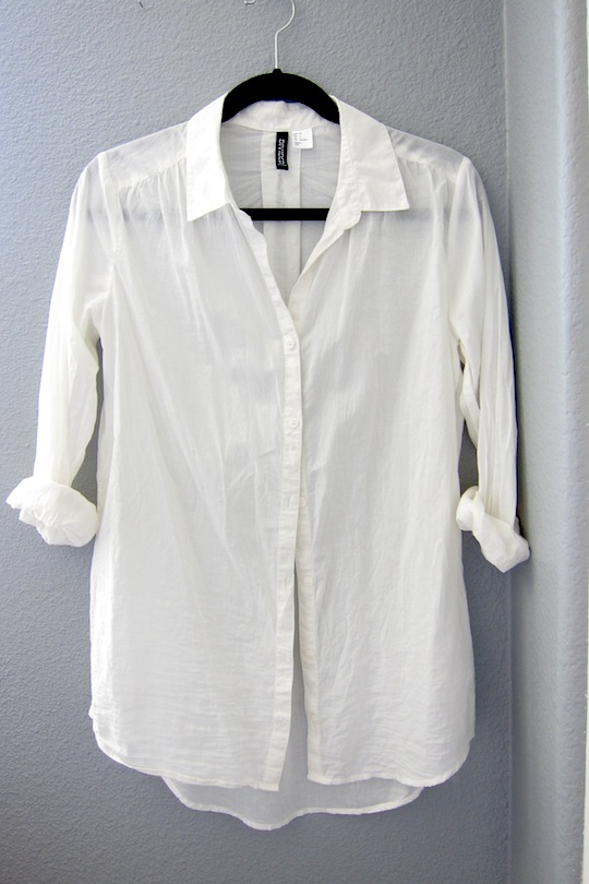 Unique Bargains Women's Long Sleeve Casual Sheer Button Up Shirts White (Size M / 8) Sold by Unique Bargains. $ $ DKNY $ Womens New White Collared Sleeveless Button Up Casual Top L B+B. Sold by BOBBI + BRICKA. $ $