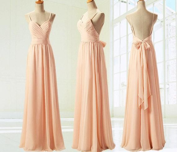 champagne bridesmaid dresses, off shoulder bridesmaid dresses ...
