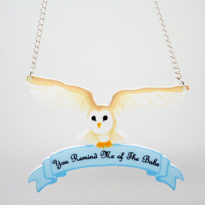 Callooh and Callay Jareth the Owl Necklace Online Store