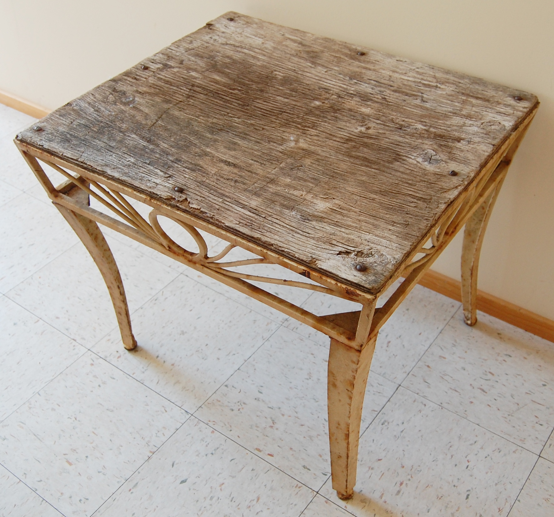 Rustic metal coffee table with wood top marinus home online store powered by storenvy Rustic wood and metal coffee table