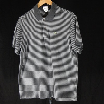 Lacoste striped polo shirt size 6