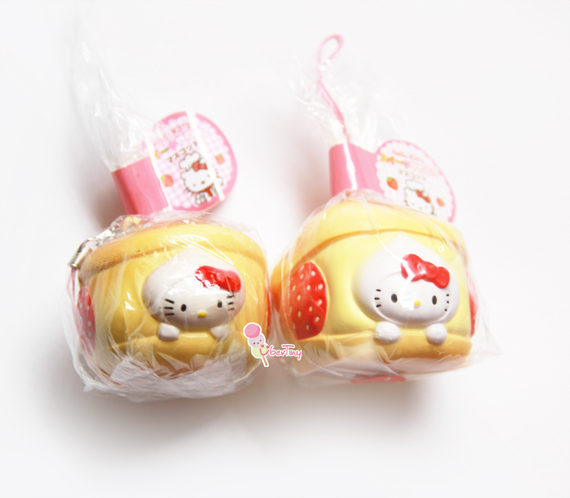 Squishy Rare : *Rare* Hello Kitty Creampuff Licensed Squishy ? Uber Tiny ? Online Store Powered by Storenvy