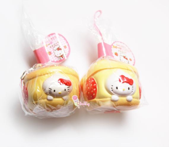 Squishy Sanrio Rare : *Rare* Hello Kitty Creampuff Licensed Squishy ? Uber Tiny ? Online Store Powered by Storenvy