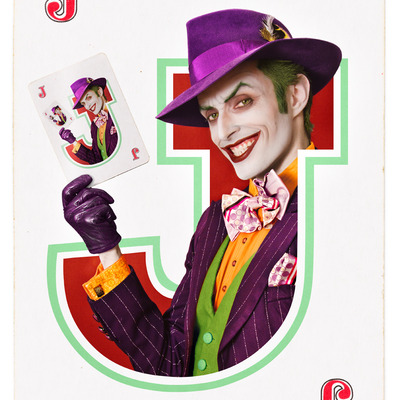 """joker's wild"" - 8.5x11 autographed glossy print"