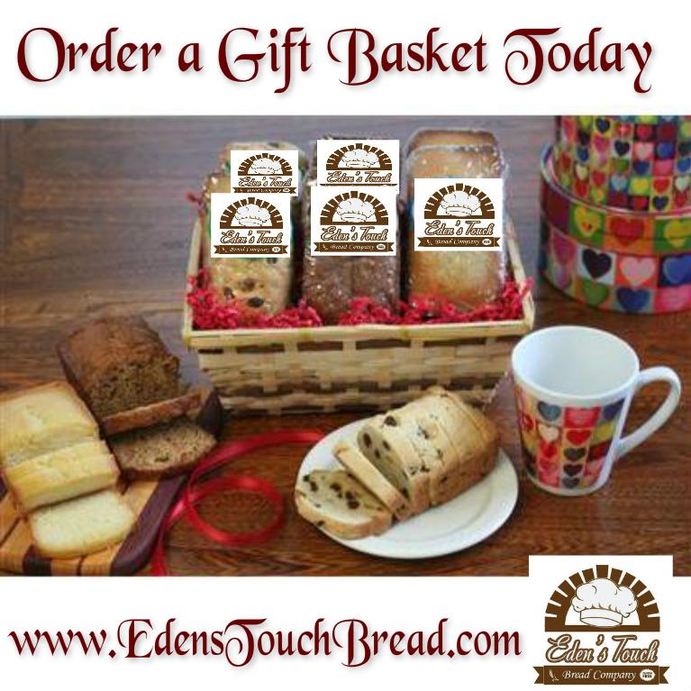 Edens touch bread company mini loaf bread gift basket 9 mini loaf bread gift basket 9 negle Image collections