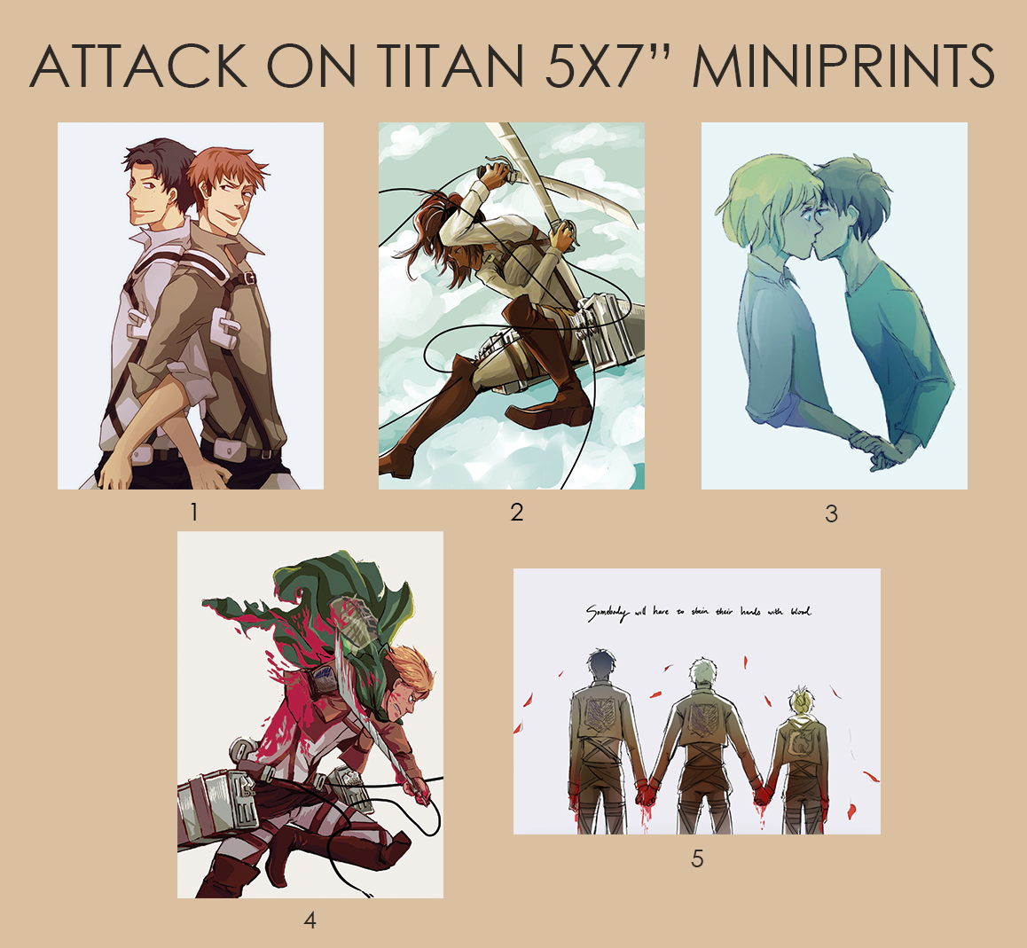 5x7 postcards