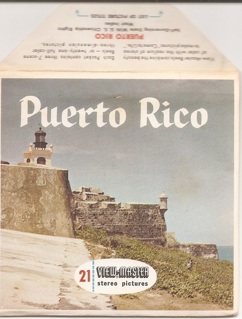 Puerto Rico Viewmaster Reel Packet B039 On Storenvy