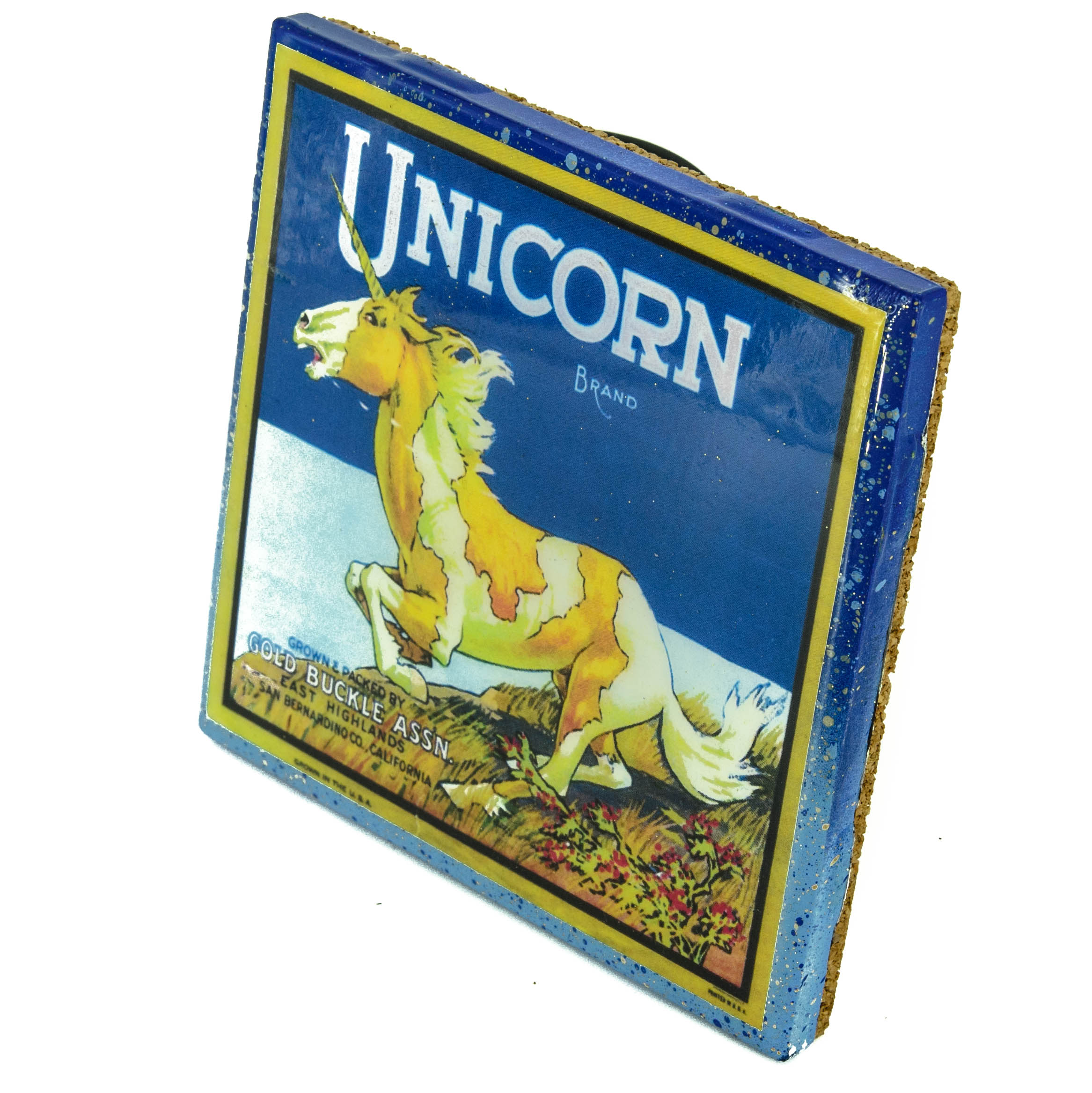 Stella Divina * | Unicorn Brand - Vintage Citrus Crate Label ...