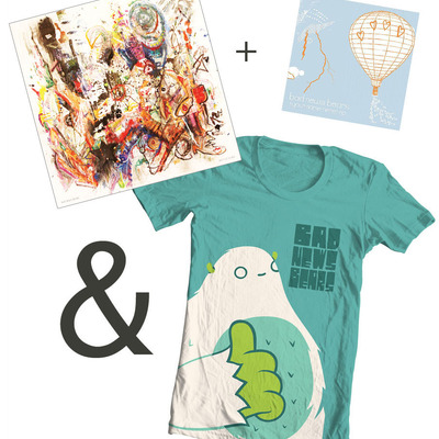 "Battle scars: ""thumbs up"" shirt bundle"