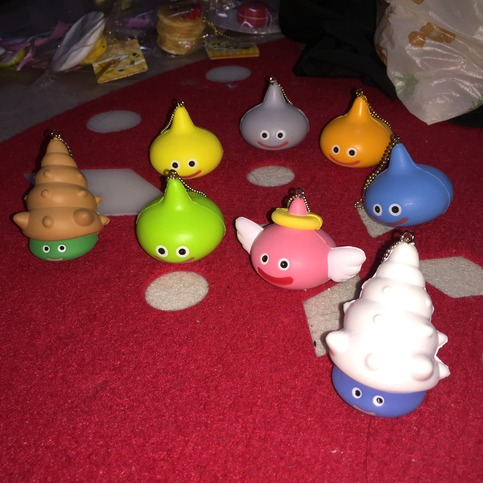 Squishy Collection Small : Licensed Cute Small Raindrop Squishy Set of 8 on Storenvy