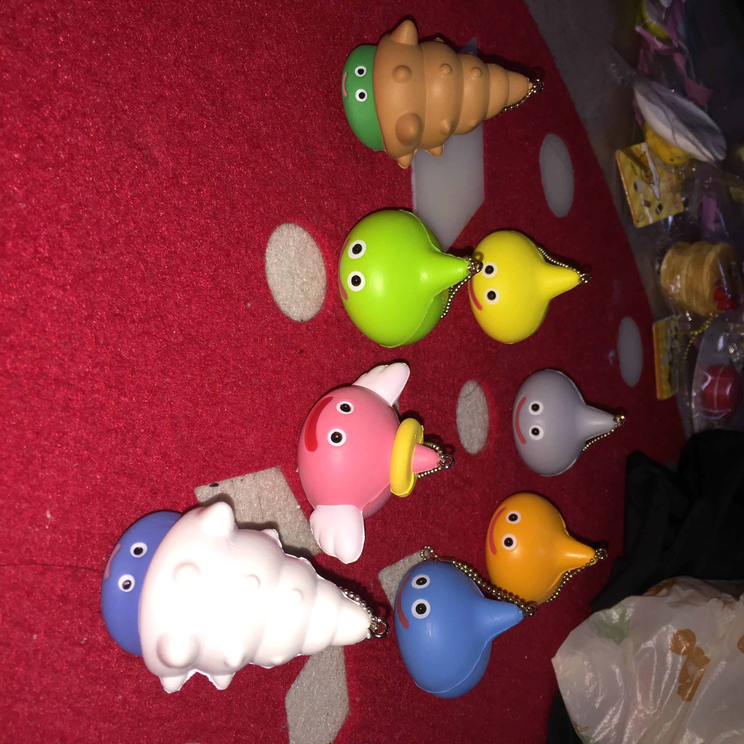 Squishy Collection Small : ~SquishyStuff~ Licensed Cute Small Raindrop Squishy Set of 8 Online Store Powered by Storenvy