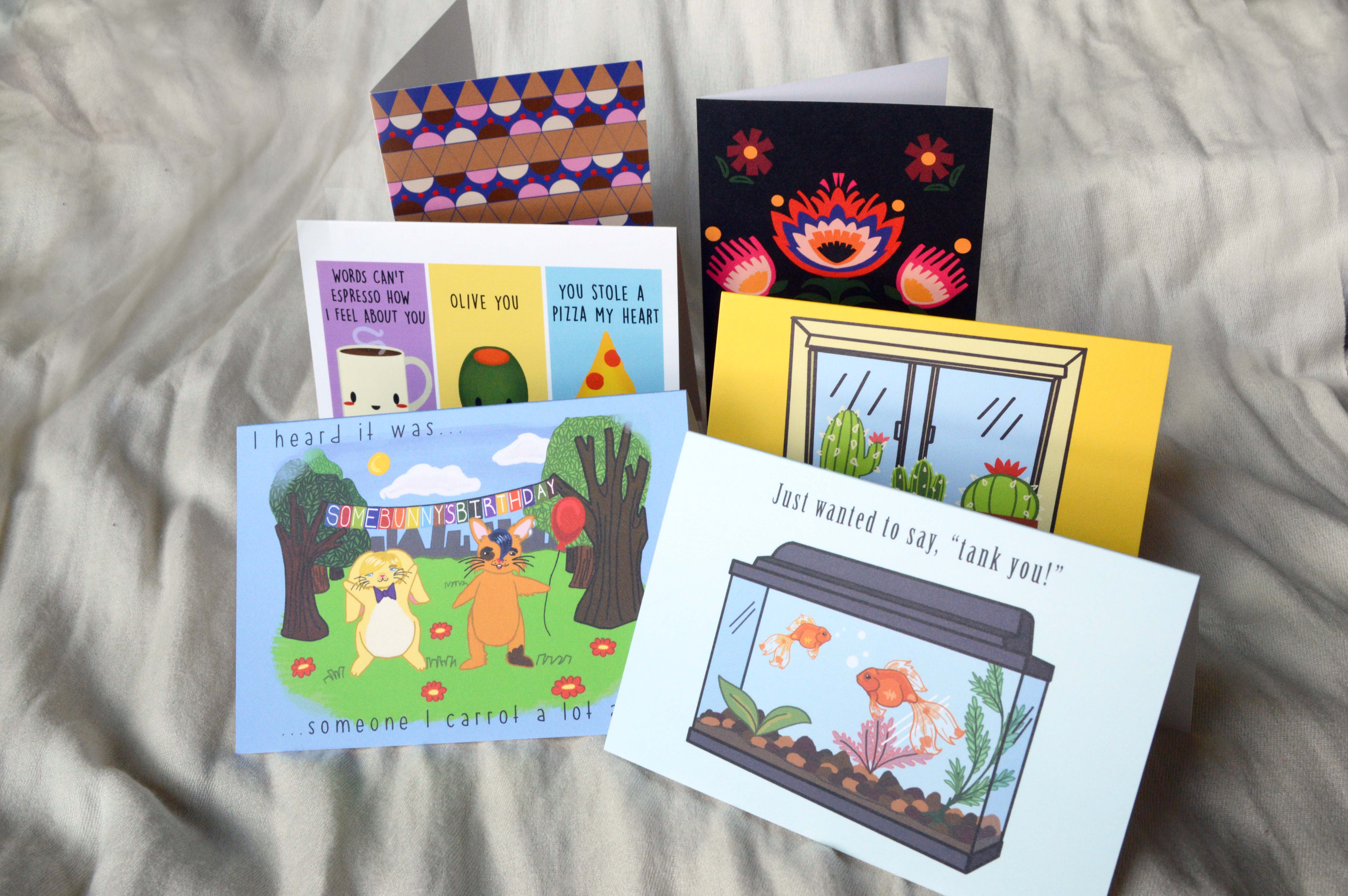 Greeting Card Packs Art By Natalie Banaszczyk Online Store