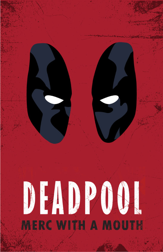 Deadpool Poster Printable Cheshire Kitty Book Club Online Store