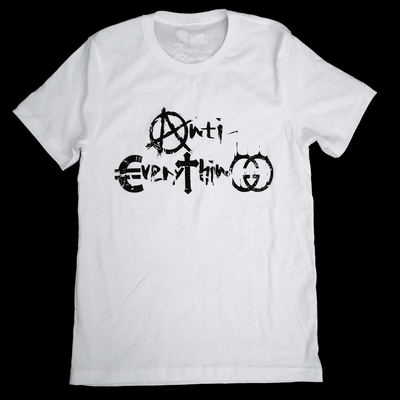 Anti-everything t-shirt - unisex by american anarchy brand