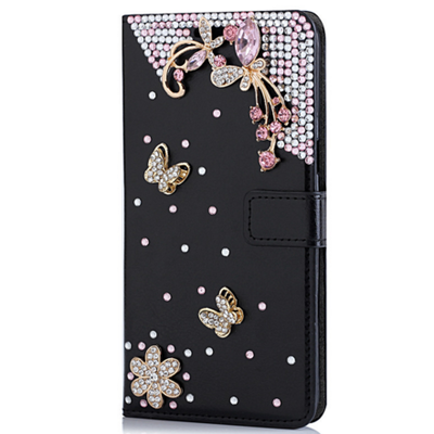 Galaxy s6 edge plus - glorious gems flip wallet case in assorted colors