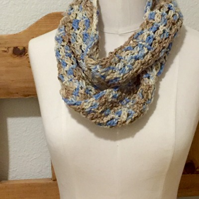 Earth and sky infinity scarf