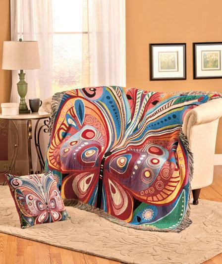Bohemian Throw Blankets Inspiration Butterfly Throw Blanket 60 X 60 Bedding Sofa Home Decor Gift