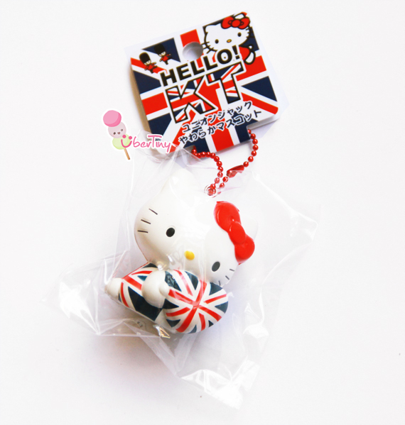 Rare* Hello Kitty Flag Union Jack Heart Squishy (Licensed) ? Uber Tiny ? Online Store Powered by ...