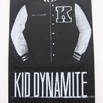 (SOLD OUT) RARE: Kid Dynamite Benefit Show Poster