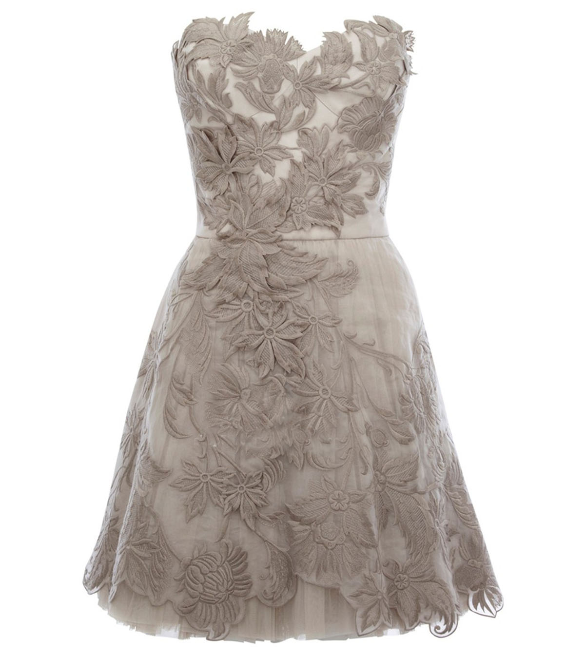 Wedding Gray Lace Dress wedding dress grey lace overlay dresses 15