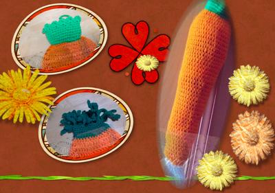 FREE CROCHET PATTERNS FOR GROCERY BAG HOLDER | Crochet