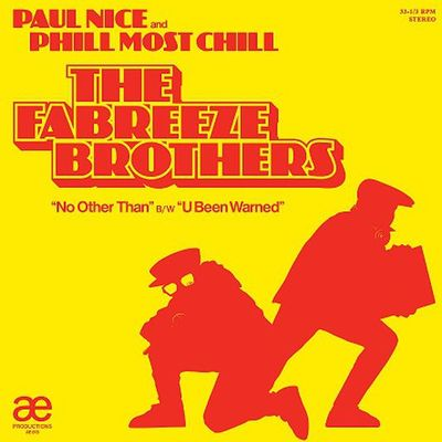 "The fabreeze brothers • no other than 12"" ep"