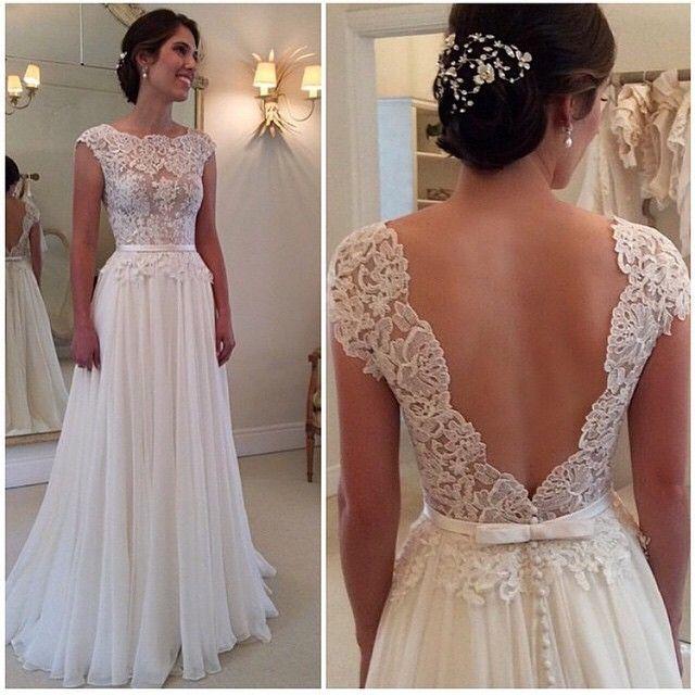 Lace Bridesmaid Dress Chiffon Bridesmaid Dresspopular Prom Dress