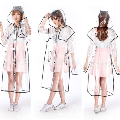 Chubasquero transparente / transparent raincoat wh023