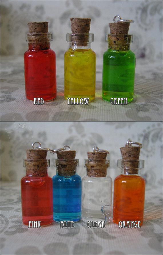 zombie antivirus 1ml glass bottle vial necklace