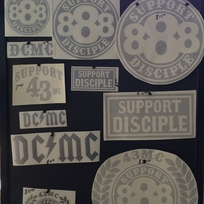 **new** support disciple decals