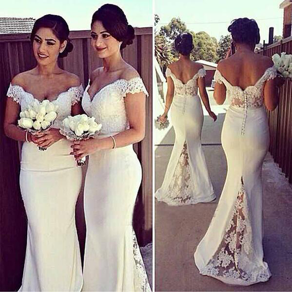 Long Bridesmaid Dresses,Sweetheart Bridesmaid Dress,Mermaid ...
