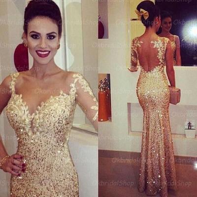 Sequin Mermaid Prom Dress