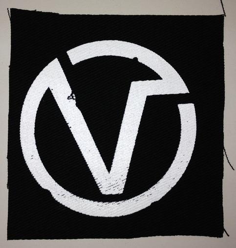 The Virus - V Circle Canvas Patch medium photo