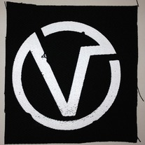 The Virus - V Circle Canvas Patch medium photo
