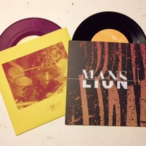 "Mans / Lion ""Split"" 7"" BLEMISHED"