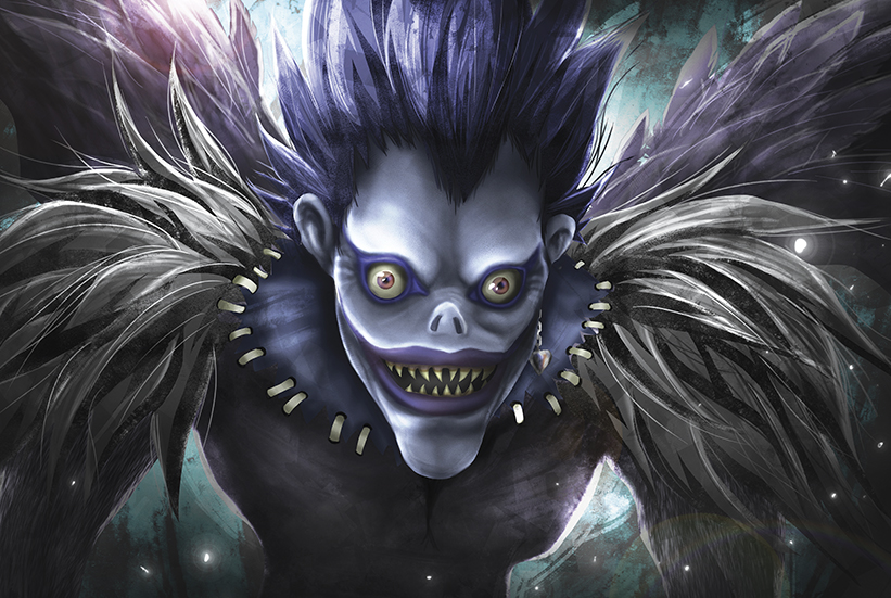 Death Note  Ryuk Fanart On Storenvy