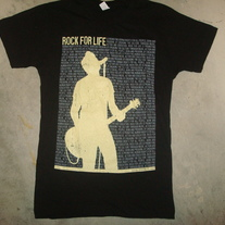 Rock For Life Guitarist T-Shirt