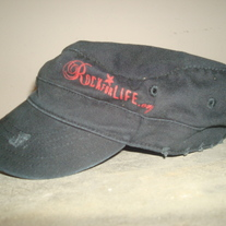 """RockForLife.org"" Military Hat"