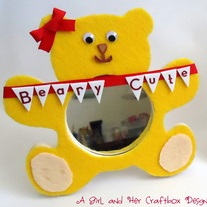 Beary Cute Mirror