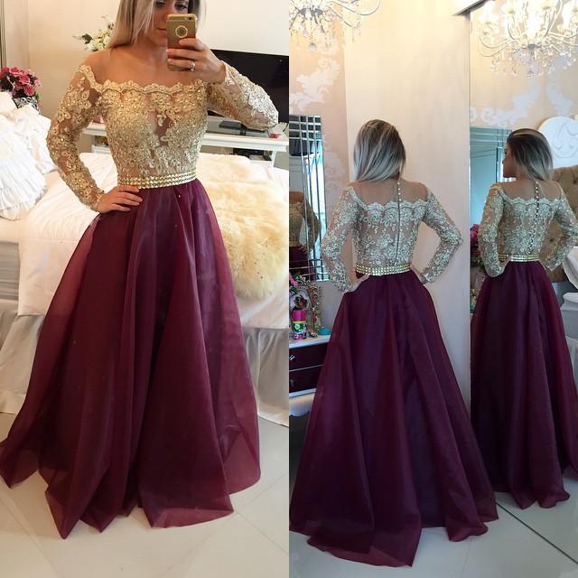 Lace Prom Dresses,Organza Prom Dresses/Evening Dresses,Prom Dresses ...