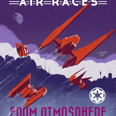 Kessel run air races print
